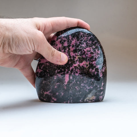 Polished Imperial Rhodonite from Madagascar (4 lbs)