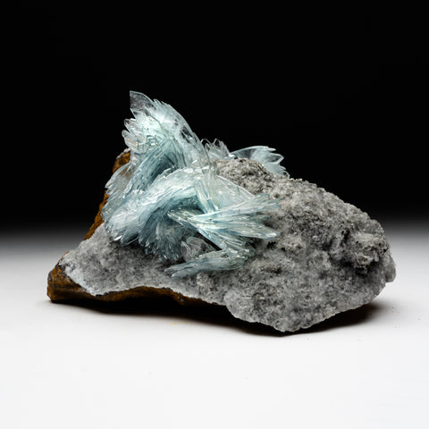 Barite on matrix From Jebel Ouichane, Beni Bou Ifrour, Nador, Nador Province, Oriental Region, Morocco