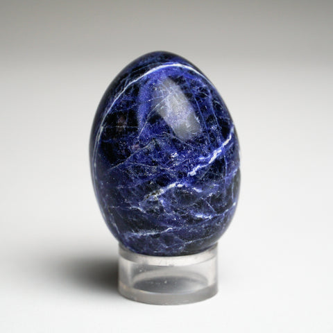 Polished Sodalite Egg from Brazil (95.6 grams)