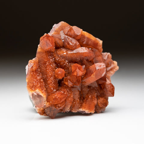 Red Quartz Hematite crystal cluster From Morocco (231.5 grams)