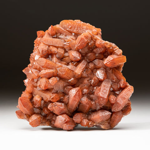 Red Quartz Hematite crystal cluster From Morocco (1.6 lbs)