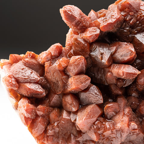 Red Quartz Hematite crystal cluster From Morocco (5.6 lbs)