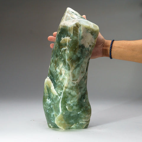 Polished Green Jade Freeform from Pakistan (18.5 lbs)