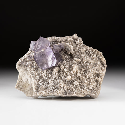 Purple Fluorite from Elmwood Mine, Carthage, Smith County, Tennessee (2.8 lbs)
