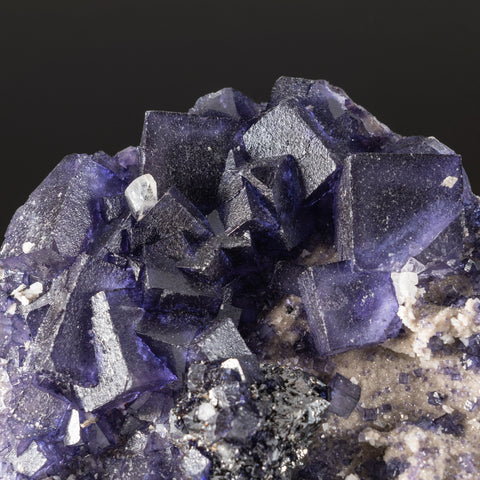 Purple Fluorite from Elmwood Mine, Carthage, Smith County, Tennessee (4 lbs)