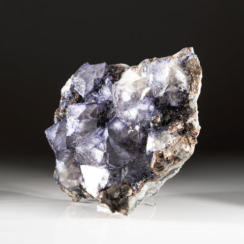 Purple Fluorite from Elmwood Mine, Carthage, Smith County, Tennessee (7.8 lbs)