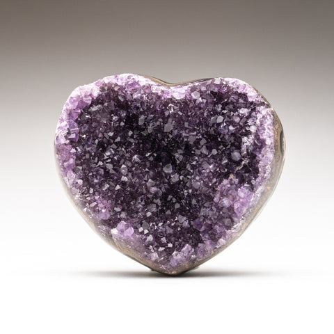 Amethyst Cluster Heart from Brazil (225.3 grams)
