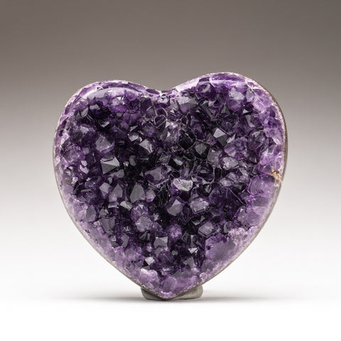 Amethyst Cluster Heart from Brazil (309.2 grams)