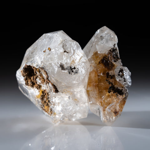 Herkimer Quartz Cluster from Herkimer County, New York (355 grams)