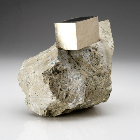 Pyrite on Basalt From Navajun, Spain