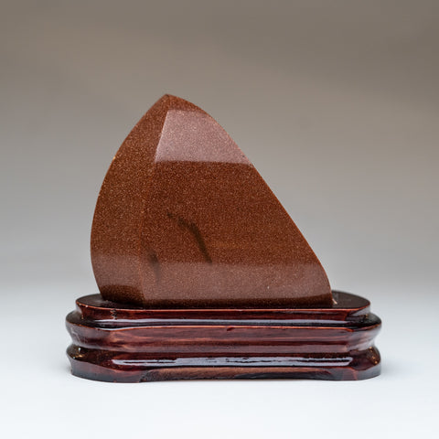 Polished Red Goldstone Point (.5 lbs)