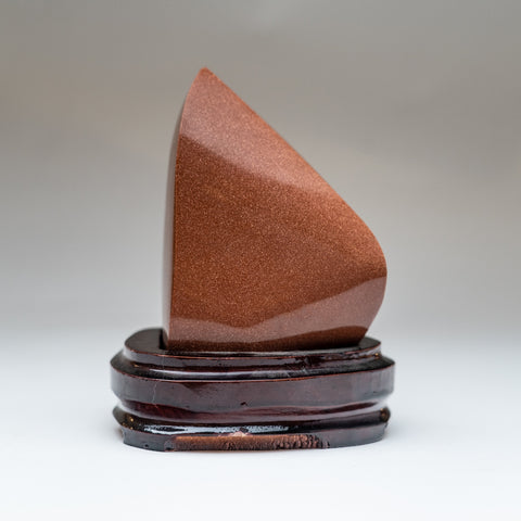 Polished Red Goldstone Point (1.5 lbs)