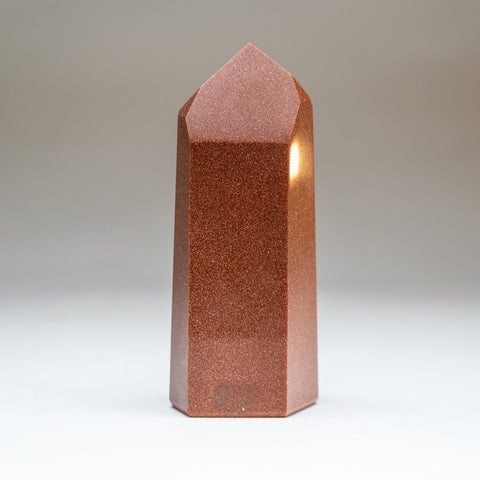 Polished Red Goldstone Point (1 lbs)
