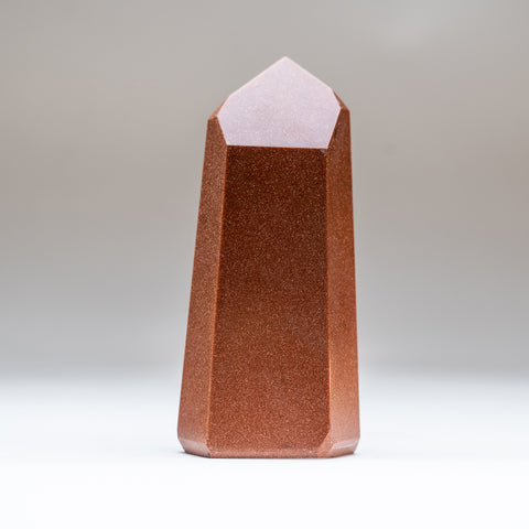 Polished Red Goldstone Point (.5 lb)