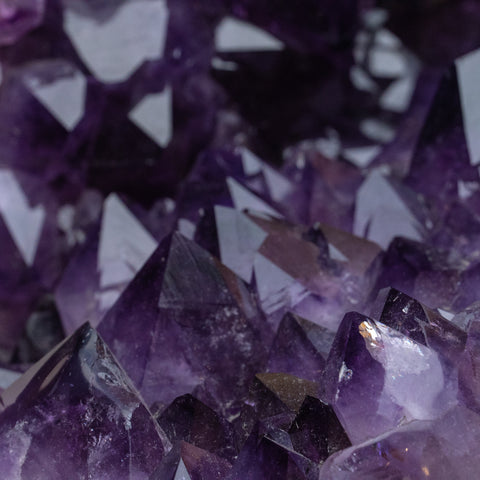 Amethyst Crystal Cluster from Brazil (38.4 lbs)