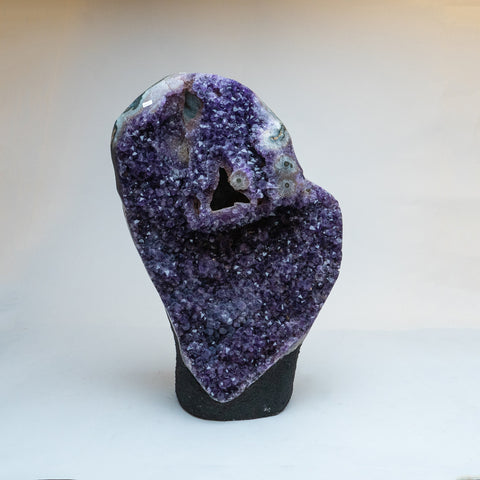 Amethyst Crystal Cluster from Brazil (39 lbs)