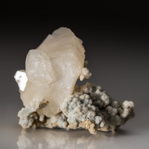 Heulandite on Matrix from Nasik District, Maharashtra, India