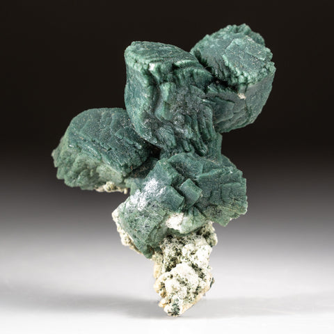 Celadonite Included Heulandite from Aurangabad, Maharashtra, India