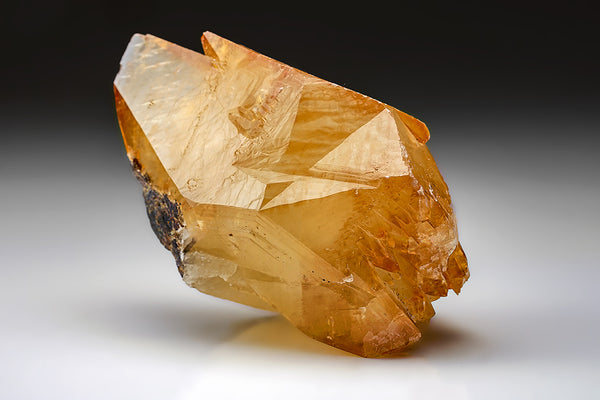 Golden Calcite Crystal from Elmwood Mine, Tennessee (612 grams)