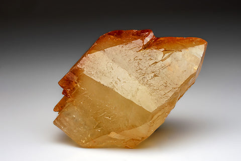 Golden Calcite Crystal from Elmwood Mine, Tennessee (676.8 grams)