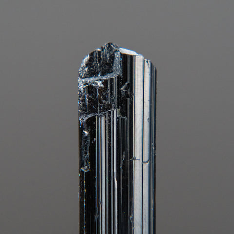 Black Tourmaline Crystal From Brazil (18.7 grams)