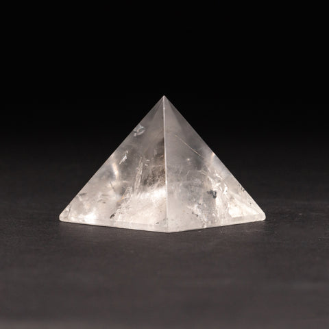 Clear Quartz Gemstone Pyramid (109.2 grams)