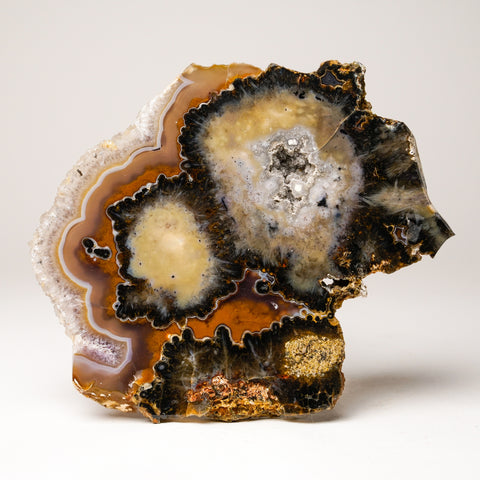 Natural Banded Agate from Brazil (896.2 grams)