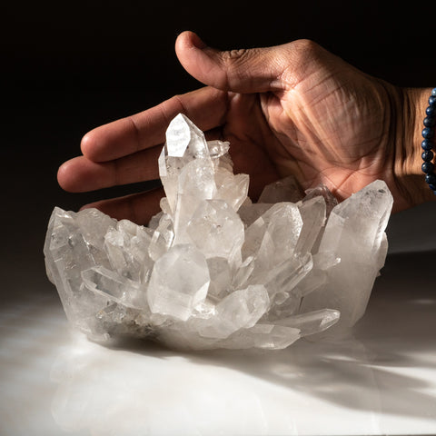 Quartz from Ouachita Mountains, Montgomery County, Arkansas