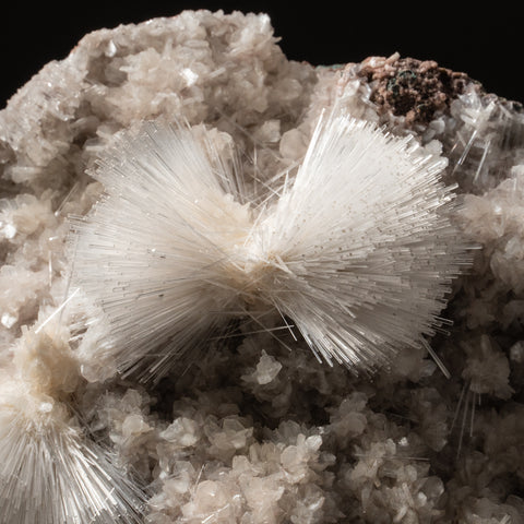 Mesolite on Matrix from Pune District, Maharashtra, India