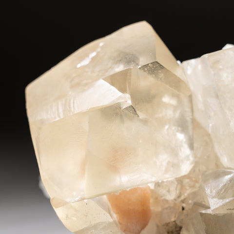 Golden Calcite with Apophyllite From Nasik District, Maharashtra, India