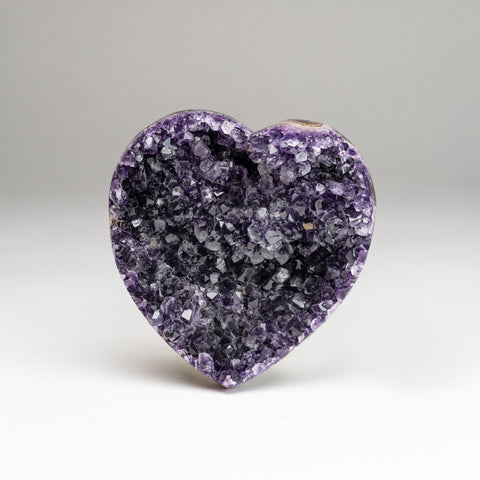 Amethyst Cluster Heart from Brazil(1.8 lbs)
