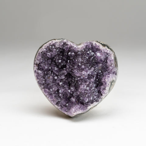 Amethyst Cluster Heart from Brazil (1.4 lbs)