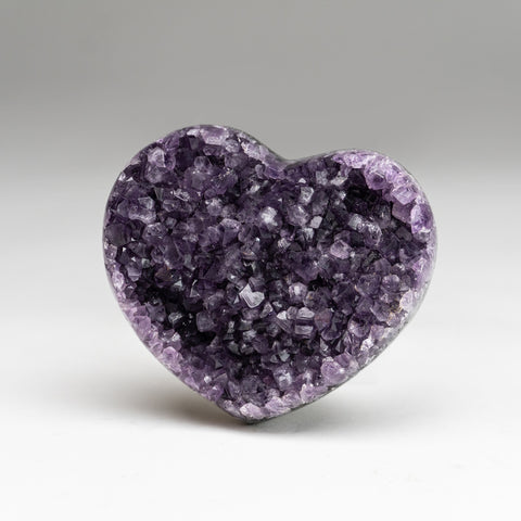 Amethyst Cluster Heart from Brazil (.6 lbs)