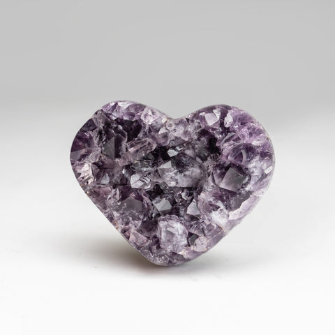 Amethyst Cluster Heart from Brazil (.8 lbs)