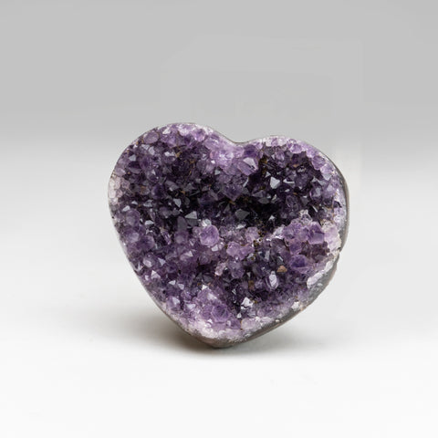 Amethyst Cluster Heart from Brazil (174.8 grams)