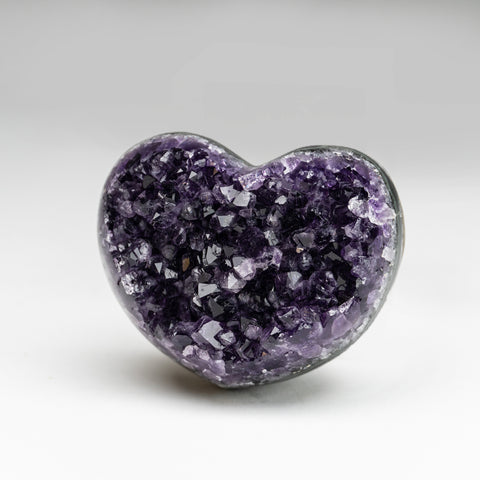 Amethyst Cluster Heart from Brazil (282.8 grams)