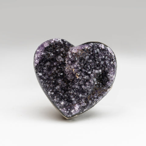 Amethyst Cluster Heart from Brazil (235.4 grams)