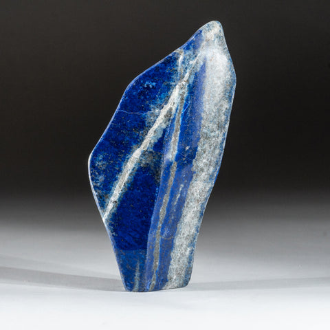 Polished Lapis Lazuli Freeform from Afghanistan (1.2 lbs)