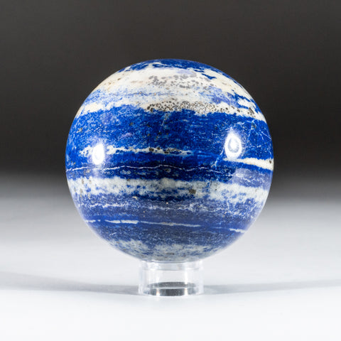 "Polished Lapis Lazuli Sphere from Afghanistan (3.25"", 1.8 lbs)"