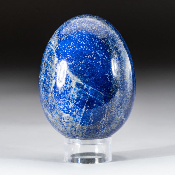 Polished Lapis Lazuli Egg from Afghanistan (288.3 grams)