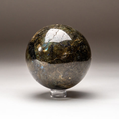 Polished Labradorite Sphere from Madagascar (3.6 lbs)