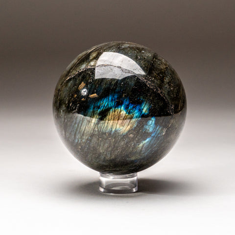 Polished Labradorite Freeform from Madagascar (2 lbs)