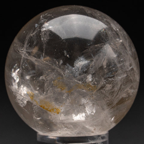 "Polished Clear Quartz Sphere From Brazil (2"", 152.3 grams)"