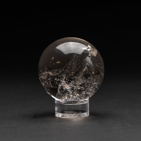 "Polished Clear Quartz Sphere From Brazil (2"", 164.2 grams)"
