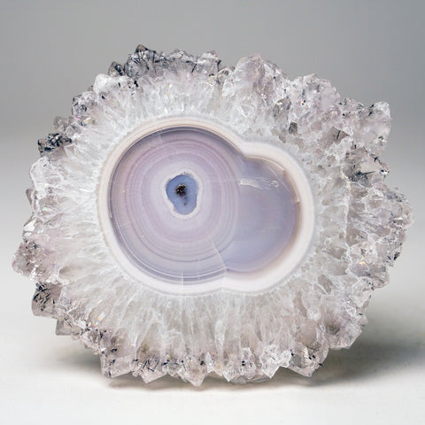 Amethyst Stalactite Slice from Uruguay (298.5 grams)