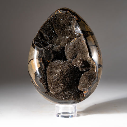 Septarian Druzy Egg from Madagascar (8.6 lbs)