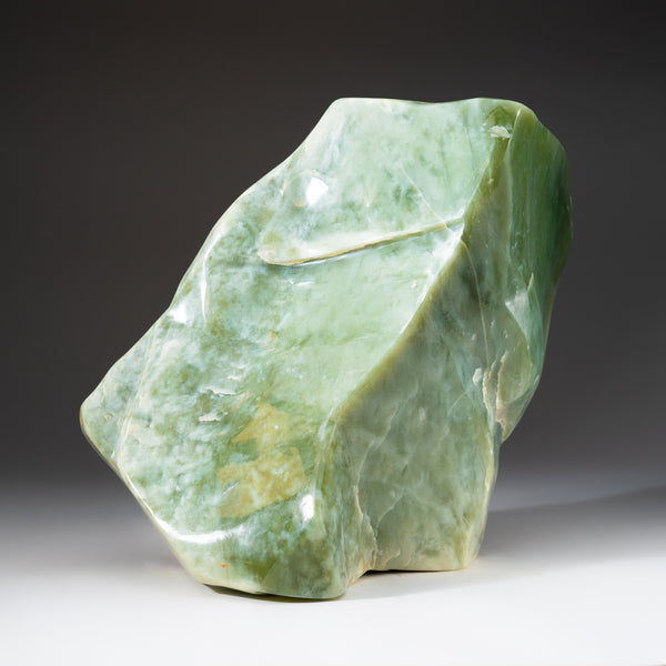 Polished Green Jade Freeform from Pakistan (37.6 lbs)
