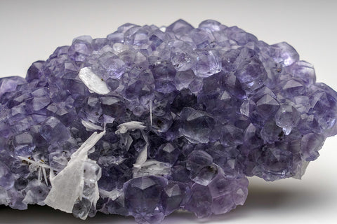 Purple Fluorite From Leiyang, Hunan, China