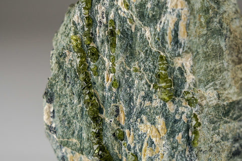 Demantoid Garnet on Clinochlore From Ural Mountains, Russia