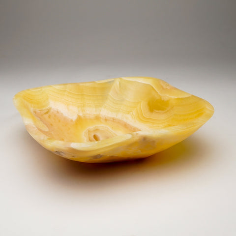 Natural Onyx Bowl From Mexico (2 lbs)